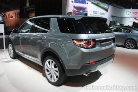 land rover car discovery land rover discovery sport rear three quarter at the 2015 detroit