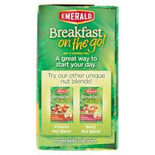 emerald city houston halloween emerald breakfast on the go nut u0026 granola mix breakfast nut blend