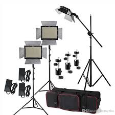 led studio lighting kit studio lighting kit yongnuo yn600l ii 3200 5500k bi color 600 led