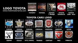 logo toyota corolla mengenal berbagai macam logo mobil toyota mobil motor lama