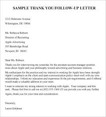 ideas of sample follow up letter after submitting job application