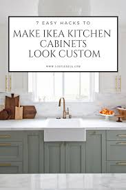 ikea kitchen cabinet names 7 easy ways to make ikea kitchens look custom lost luxe