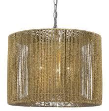 bolivar string drum pendant light or plug in swag lamp 16