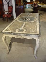 Antique Dining Furniture Antique French Painted Louis Xv Style Dining Table For Sale At 1stdibs