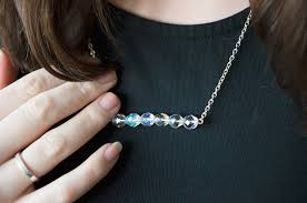 all swarovski crystal necklace images Craft diy swarovski crystal necklace all about clair jpg