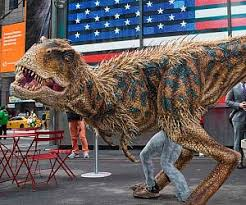 velociraptor costume walking dinosaur costume