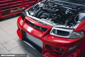 mitsubishi evo 7 custom ross sport evo creating a monster speedhunters