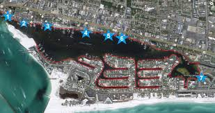 Destin Florida On Map by Skip The Traffic And Take The Destin Water Taxi The Good Life Destin