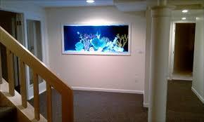 picture frame room divider picture frame saltwater in wall aquarium blue planet aquarium