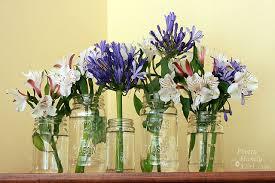 wedding flowers jam jars uk weddings inspiration lovemelovemywedding