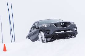 mazda product line driving the mazda cx 3 cx 5 and mx 5 miata on snow and ice