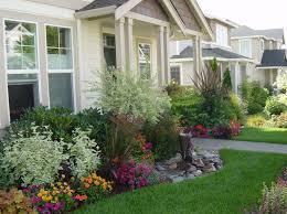Backyard Flower Garden Ideas Landscape Arrangements For Your House U0027s Front Gardening Flowers