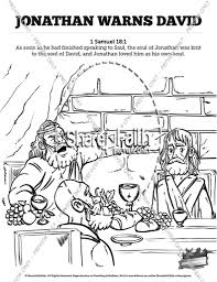 samuel anoints saul coloring pages printable coloring pages