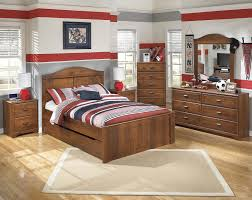 Trundle Bedroom Set Signature Design By Ashley Barchan Twin Bookcase Bed With Underbed