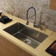 Single Tub Kitchen Sink Stylish 32 Inch Stainless Steel Undermount Single Bowl Kitchen