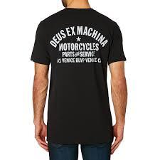 deus ex machina venice address t shirt black free uk delivery