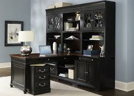 84 Inch Bookcase St Ives 84 Inch Jr Executive Bookcase In Two Tone Finish By