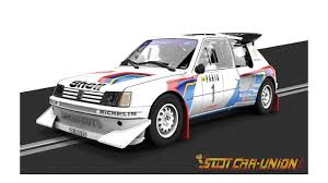 peugeot 205 group b scalextric c3591a classic collection peugeot 205 t16 slot car union