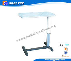 hospital bed table with drawer abs top movable over bed table dining table hospital bed accessories