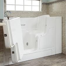 gelcoat value series 30x52 inch outward opening door soaking walk