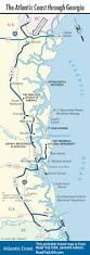 Northeast Georgia Map The Atlantic Coast Route Across Georgia Road Trip Usa