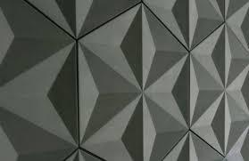 indoor tile wall concrete geometric pattern japanese geo