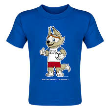 2018 fifa world cup russia zabivaka mascot toddler t shirt