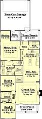 Farmhouse Floor Plan by Home Design One Story Craftsman House Plans Beach Style Large