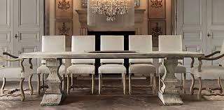 Rectangular Table Collections Restoration Hardware Home - Restoration hardware dining room tables