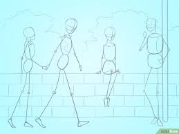 tutorial menggambar orang dengan pensil 3 cara untuk menggambar orang wikihow
