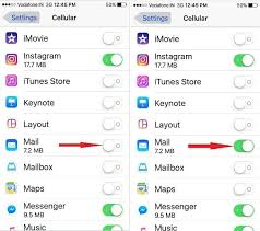 cellular data not working iphone mail app not working on cellular data here s fix