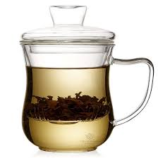 tea infuser mug 300 milliliter 10 ounce teacup with strainer