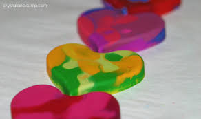 color heart valentine