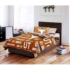 ncaa university of texas longhorns bed in a bag complete bedding
