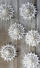 25 unique snowflake craft ideas on paper snowflakes