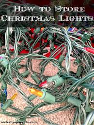 how to store christmas lights how to store christmas lights