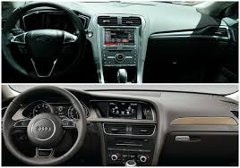 audi a4 2015 comparison 2015 ford mondeo vs audi a4 sedan autoevolution