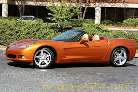 atomic orange corvette convertible for sale 2007 corvette convertible for sale at buyavette atlanta
