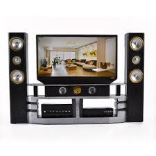 hi fi 1 6 tv home theater cabinet set combo for barbie doll house