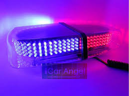 magnetic base strobe light 240 led warning light mini light bar strobe light with magnetic base