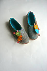 111 best handmade felted wool shoes and slippers images on felted women slippers felt slippers women house shoes slippers