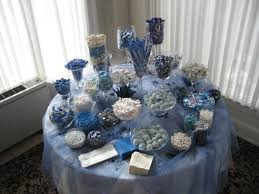 Baby Shower Candy Buffet Pictures by Boy Baby Shower Blue Candy Buffet Boy Baby Shower Pinterest