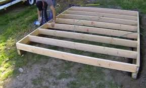 how to frame a floor diy shed budget homesteading project homesteading