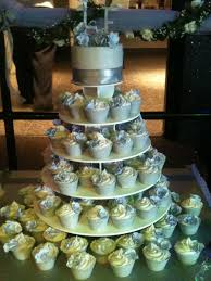 cupcake displays wedding cupcake display yestbuy 4 tier maypole square wedding
