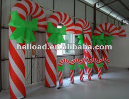 diy outdoor candy cane decorations lighted outdoor candy cane