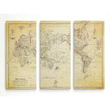 map vi vintage wold map vi antique free shipping today overstock