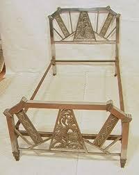 Brass Bedroom Furniture by 286 Best Art Deco Beds Images On Pinterest Art Deco Furniture