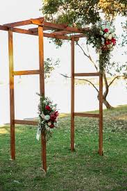wedding arches sydney wooden floral wedding arches events