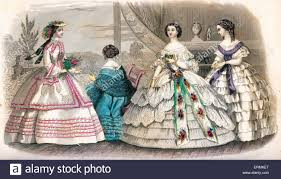 godey s fashions 1860 godey s fashion plates august 1860 civil war clothing style