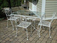 Rod Iron Patio Table And Chairs Table And Chairs Meadow Rose Pinterest Wrought Iron Iron